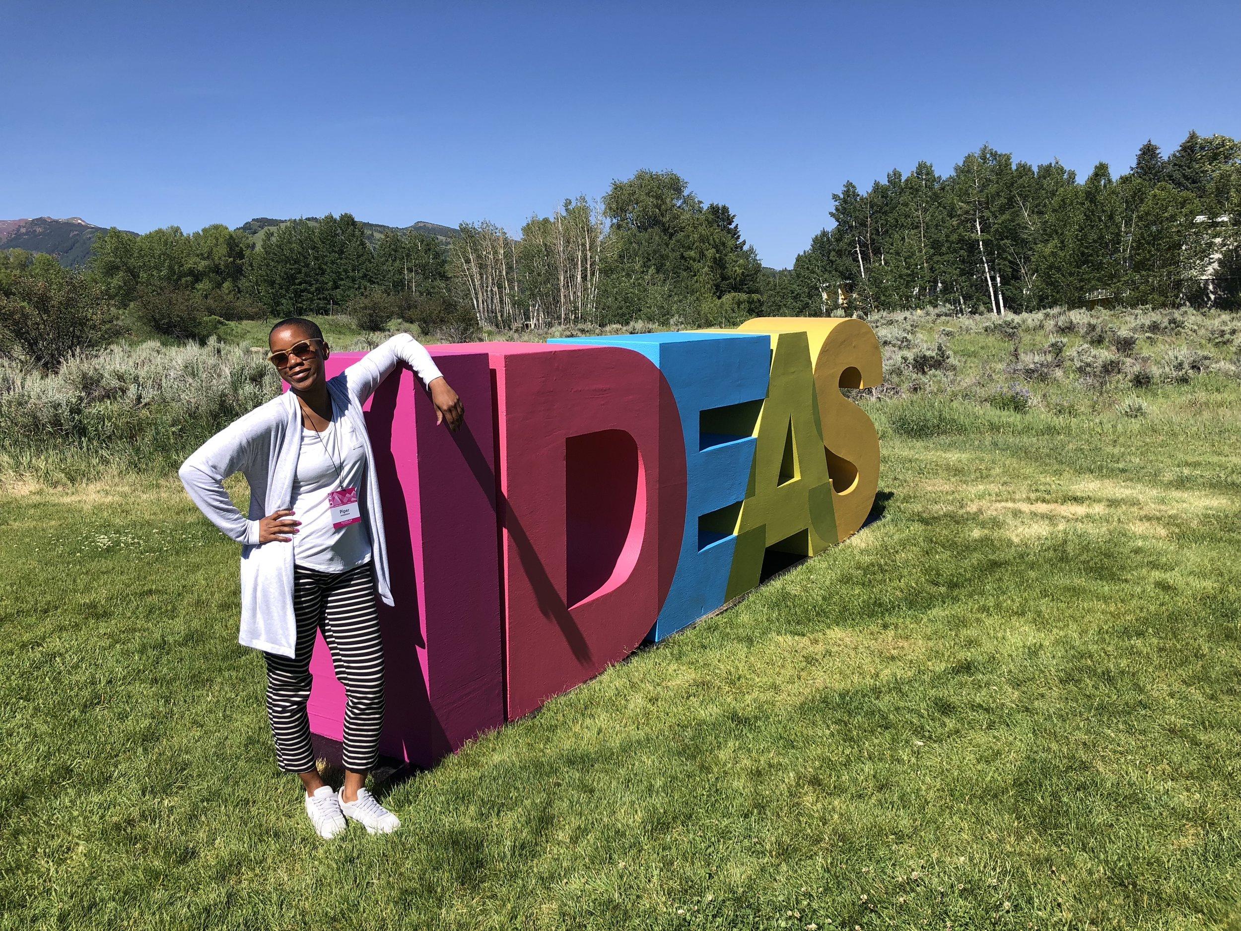 Piper at Aspen Ideas Fest 2018