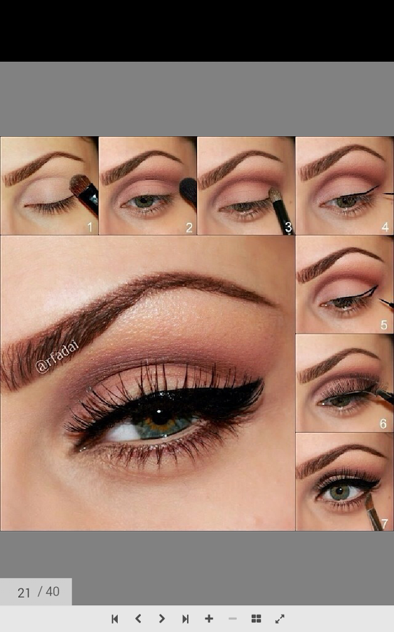 EYE LOOK FROM START TO FINISH