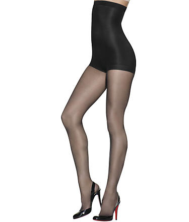 Hanes Silk Reflections High-waist Control Top Pantyhose  in Jet
