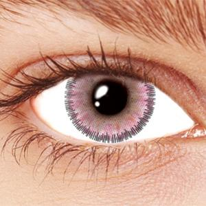 NATURAL PINK FLORAL [#60125] CONTACT LENSES $27.95