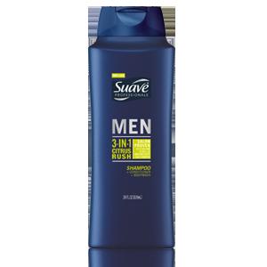 Suave Men 3-in-1 Shampoo, Conditioner, & Body Wash $2.69