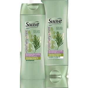 Suave Professionals Rosemary + Mind Shampoo & Conditioner $2.99 ea.