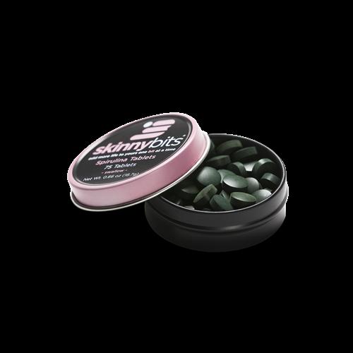 SKINNYbits 100% Spirulina algae tablets