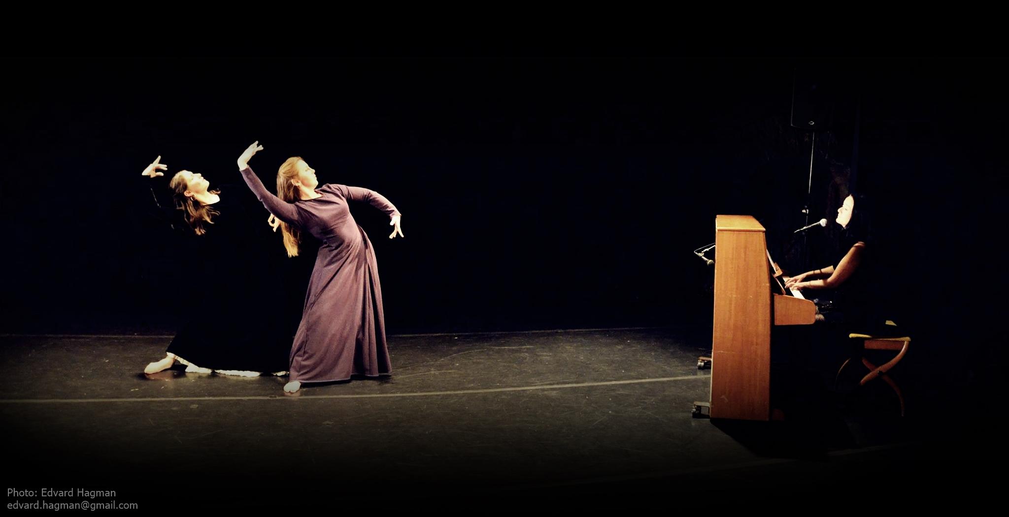 Maria Oriental, Pia del Norte and Ellen Pontara - Flamenco Persian Fusion with piano and vocals by Ellen Pontara, at East Meets West, April 2015. Photo: Edvard Hagman edvard.hagman@gmail.com