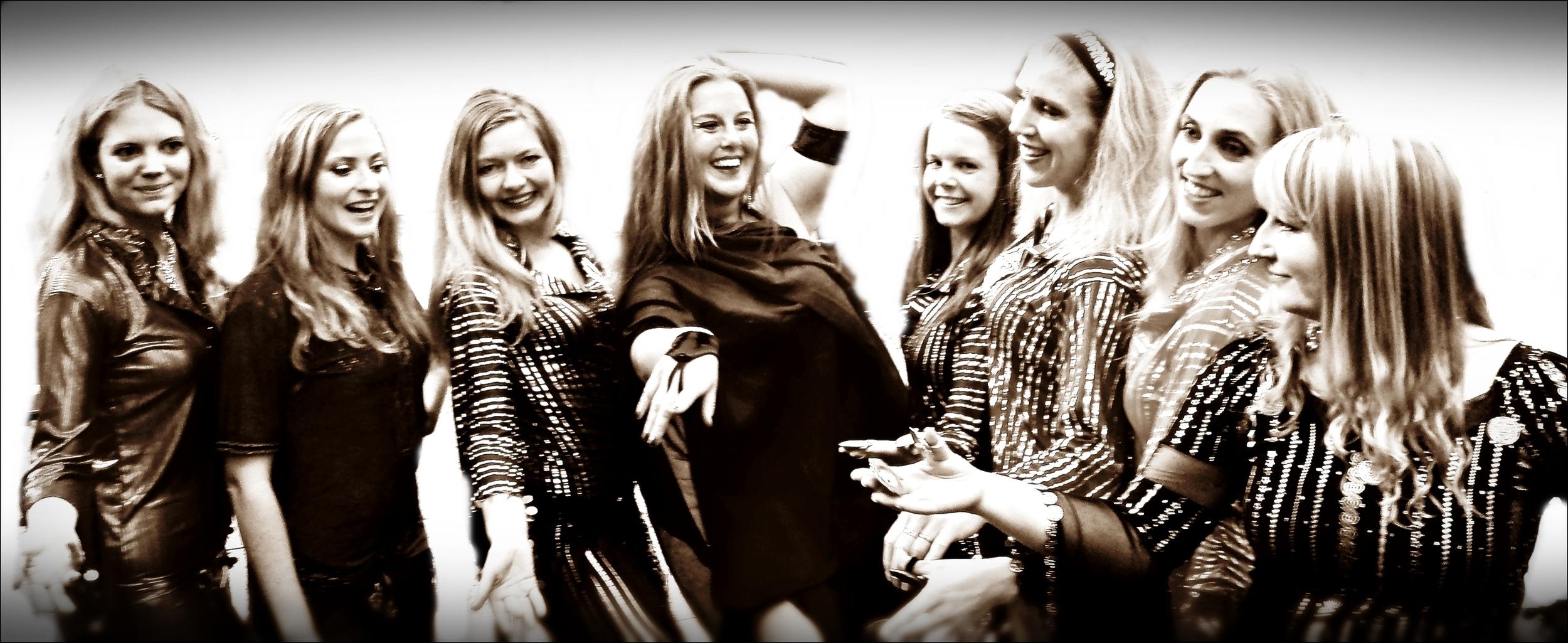 Tillsammans med några av mina elever på Kulturernas Karneval i Uppsala.
