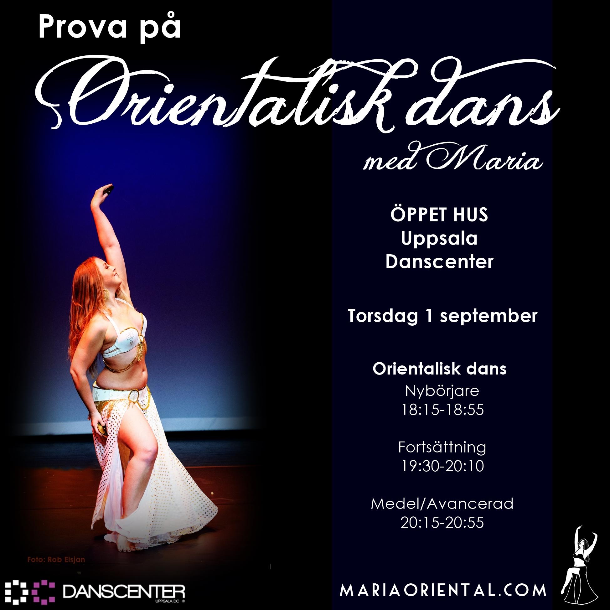 MariaOriental - UppsalaDanscenter
