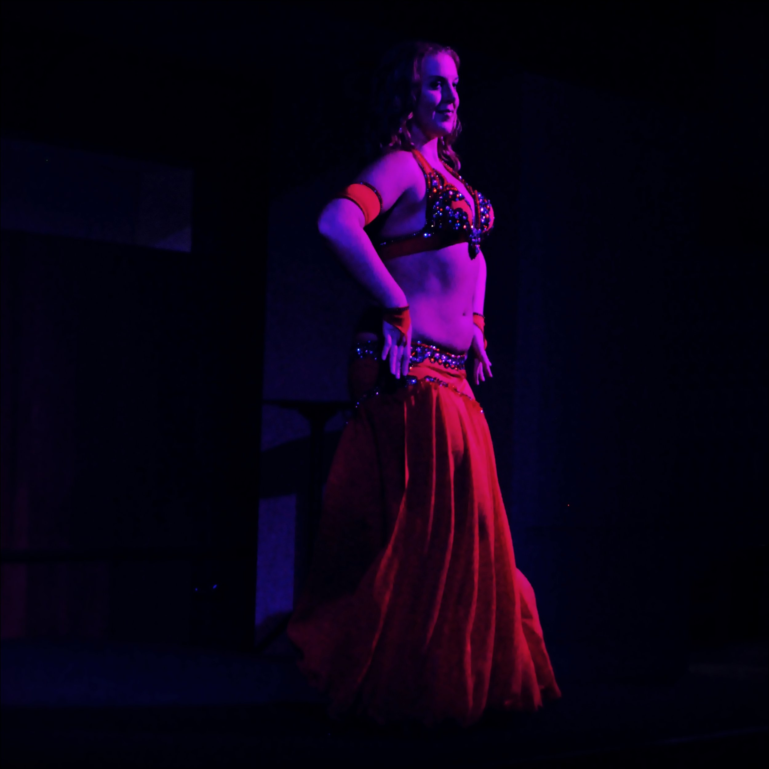 Maria Oriental - Belly Dance at Oriental Hafla at Uni:k. Luleå, November 2015.  Photo: Kenneth Isaksson