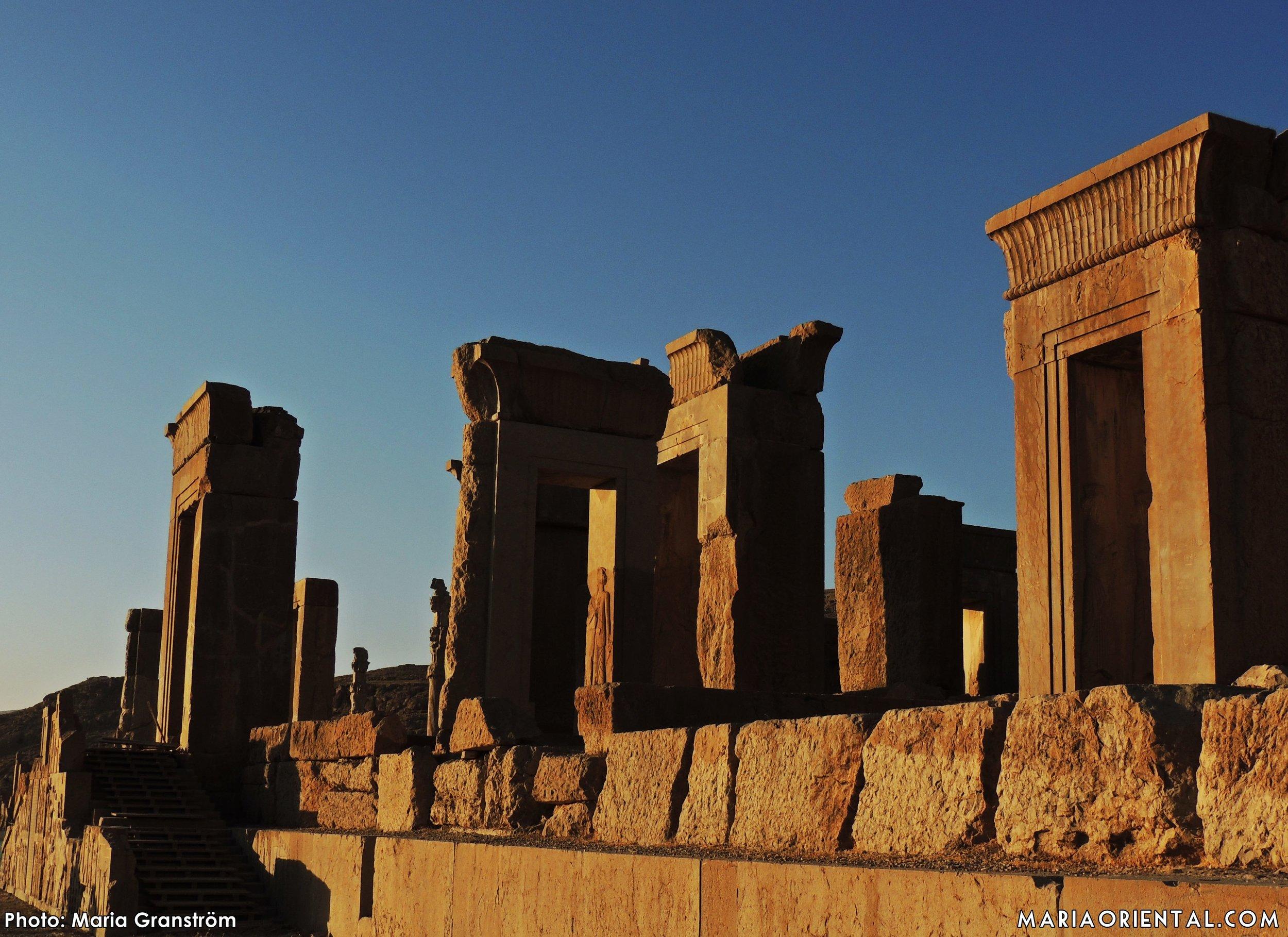 Den kanske mest klassiska bilden av Persepolis.