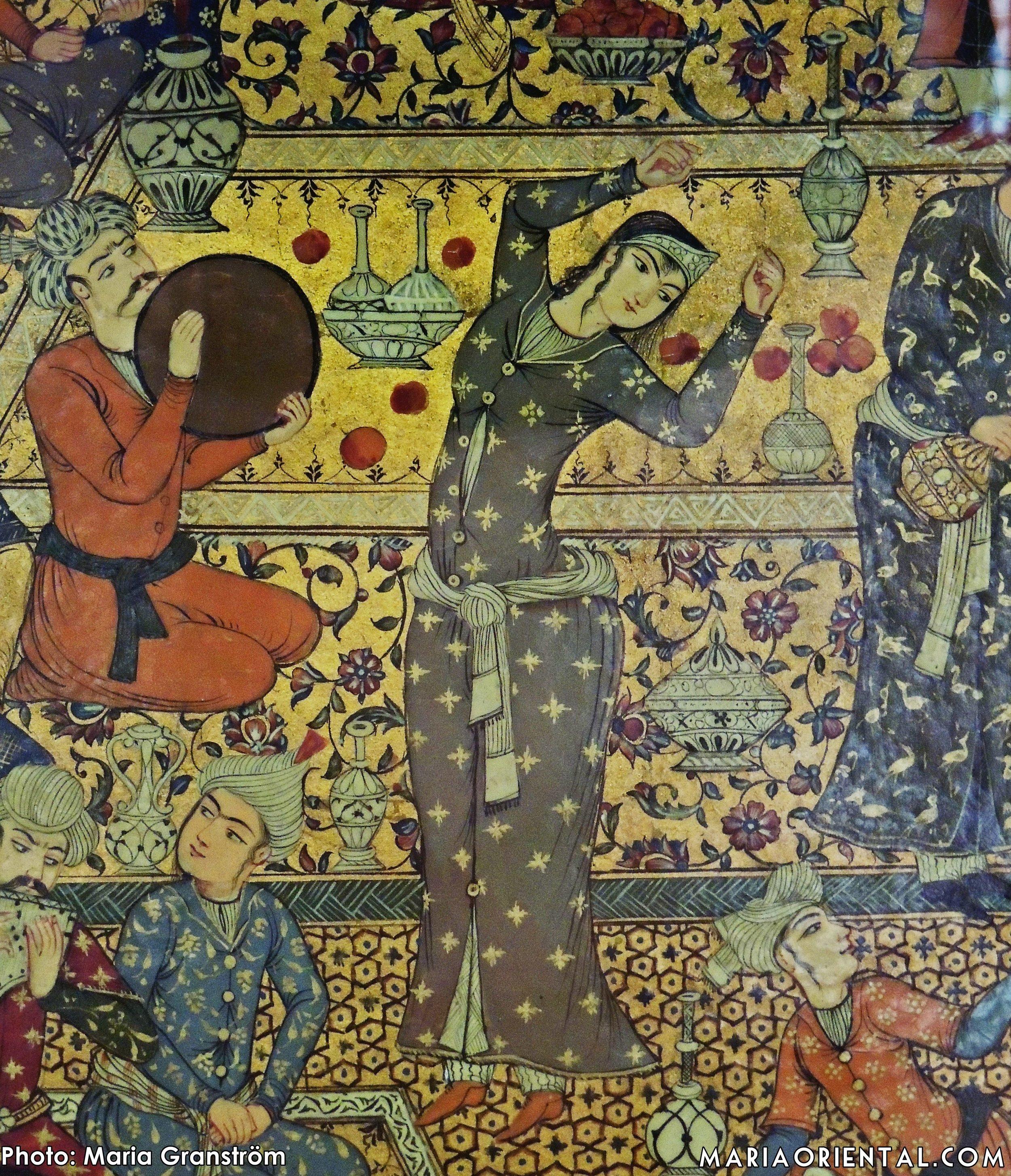 Painting at Shiraz museum.