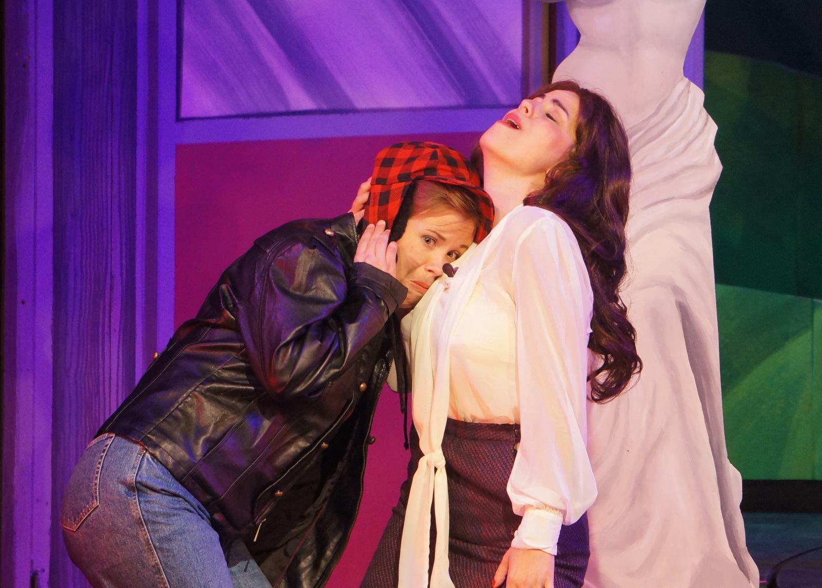 AsNatalie/Edin Ivoryton Playhouse's  All Shook Up  (2014).