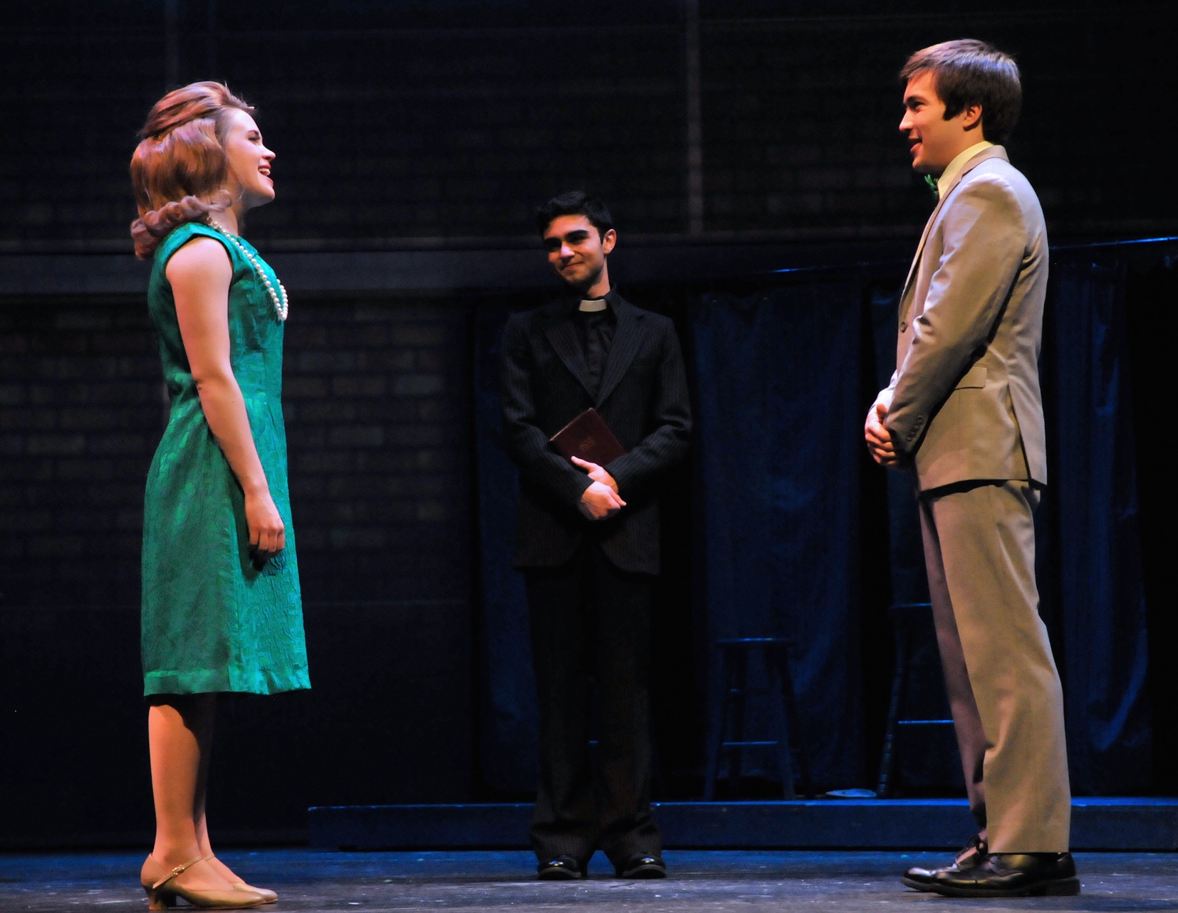 Danielle as Beth in Emerson Stage's  Merrily We Roll Along. (2015)