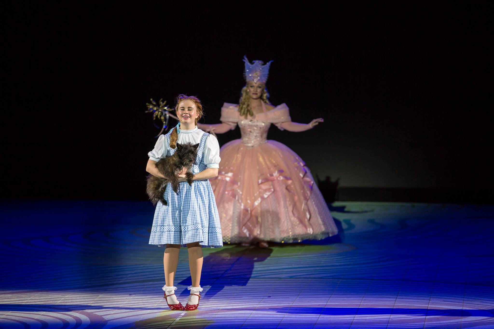 As Dorothy in The MUNY's Wizard of Oz