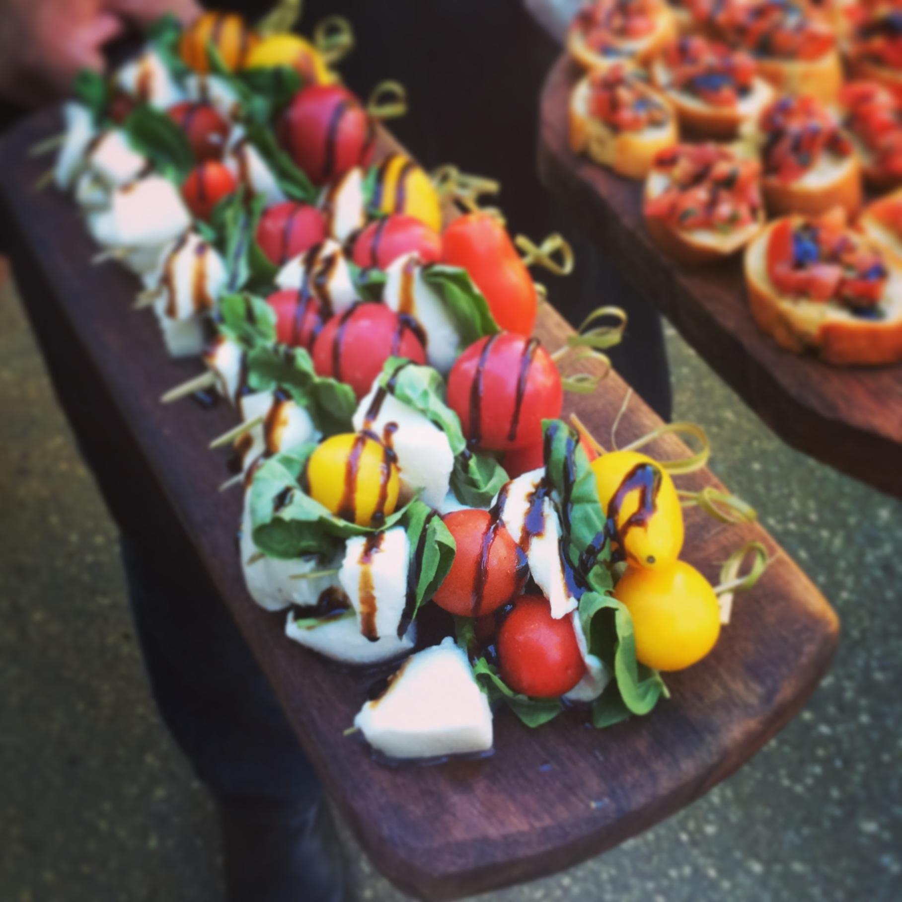 Farm to Table Catering | Caprese Bites