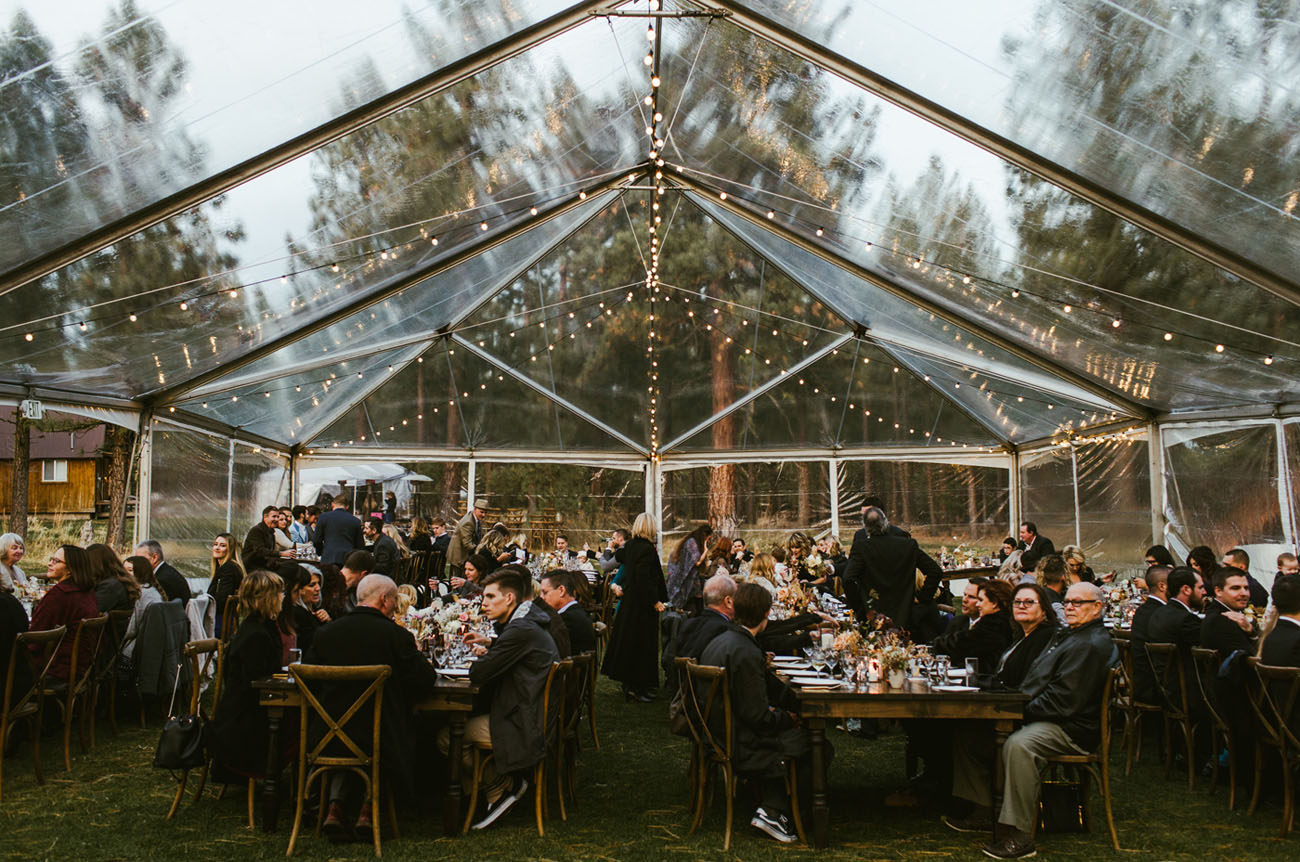 Clear tent and rentals from Farm to Table's friends over at  Celebrations Party Rentals  ; they never disappoint us with their great service and high quality + on-trend inventory.