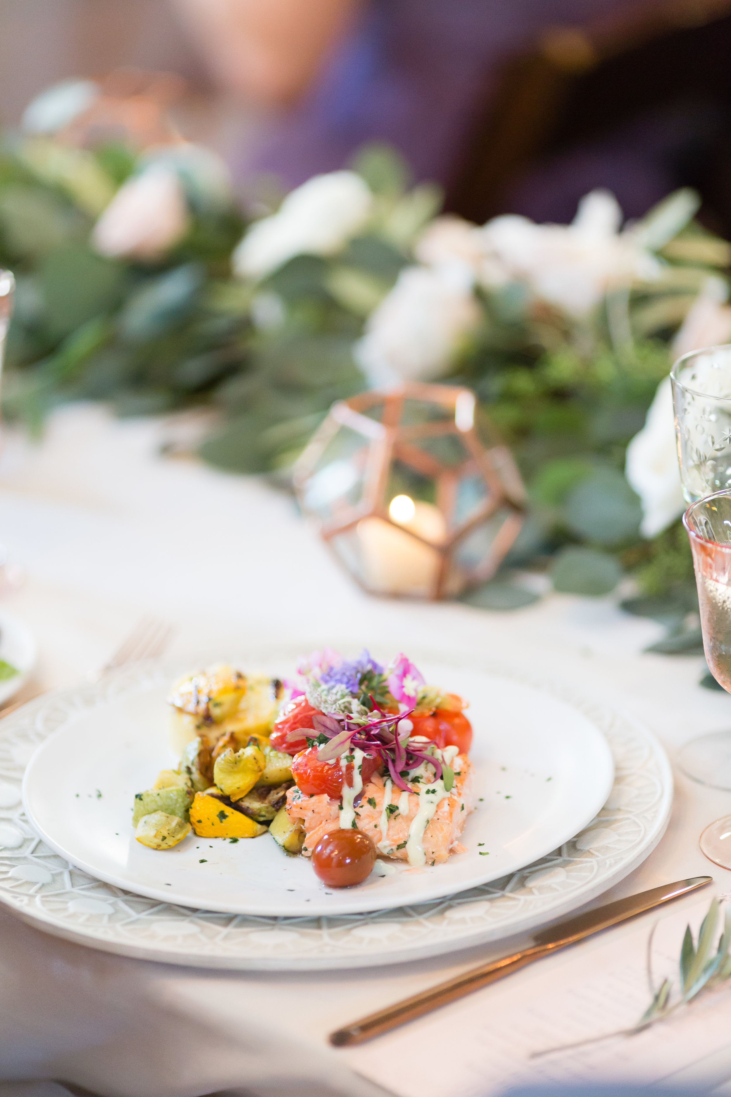 Wedding catering by Farm to Table Catering | Miners Foundry | Nevada City, CA