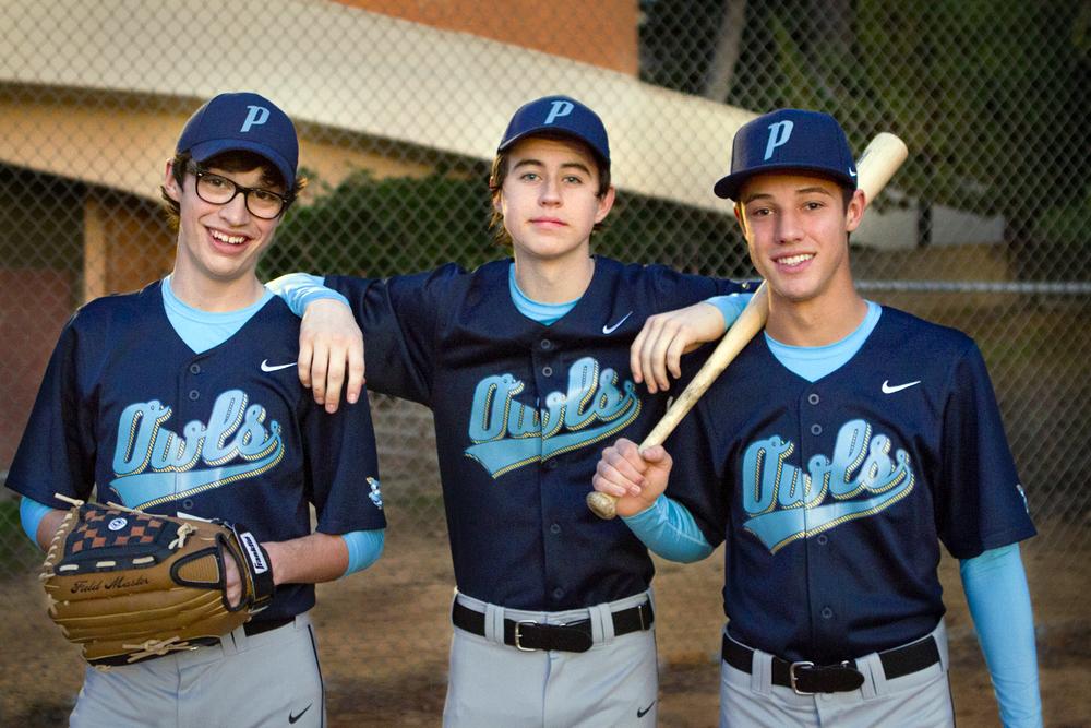 Joey Bragg, Nash Grier, and Cameron Dallas