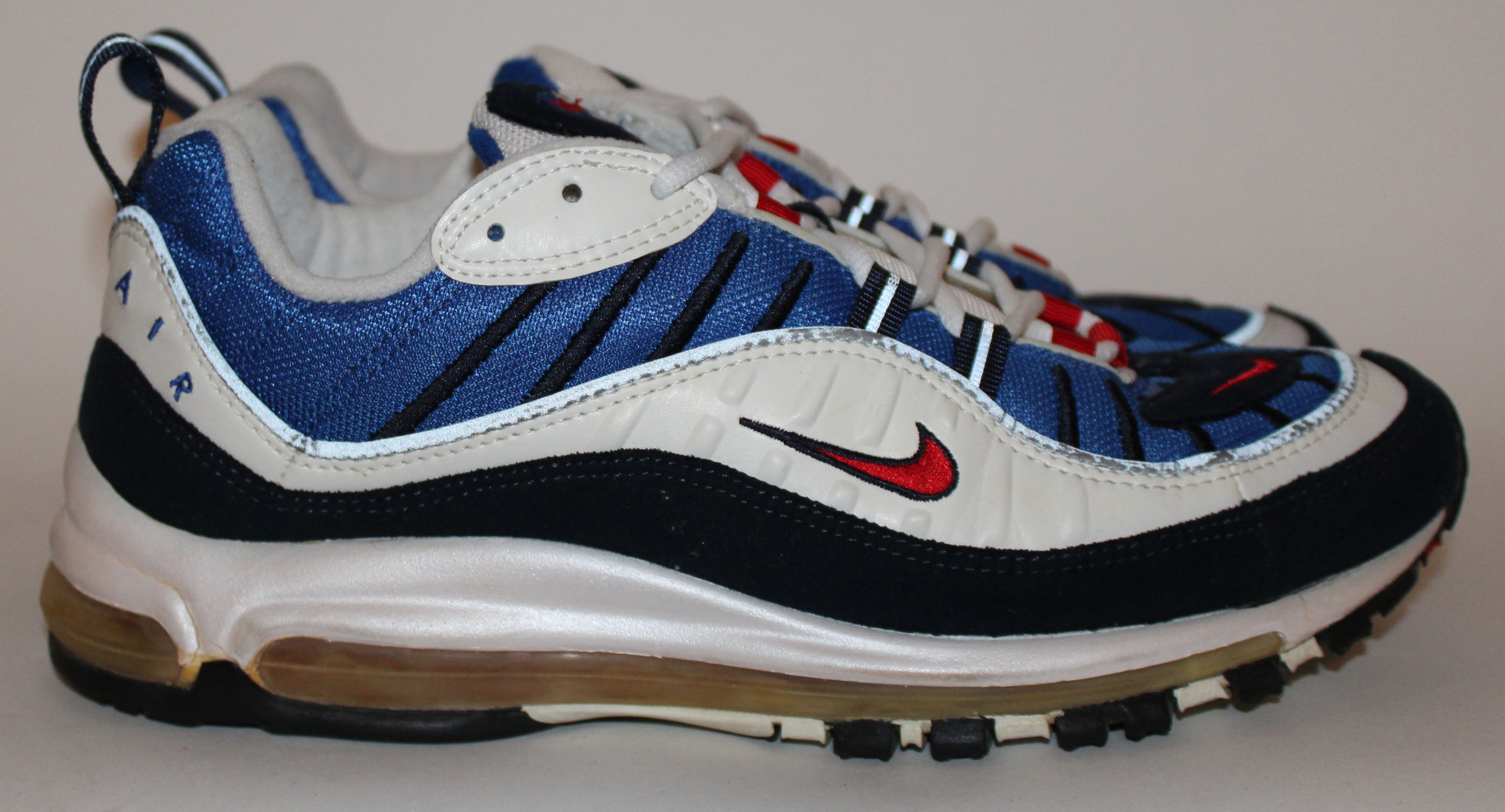 Nike Air Max 98 Gundam Og Size 10 Unwearable Roots
