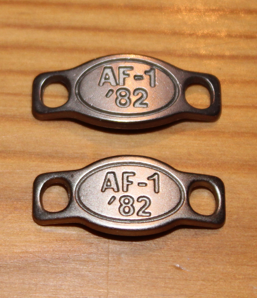 Desviación Figura mostaza  Nike Air Force 1 Lace Locks (Pair) — Roots
