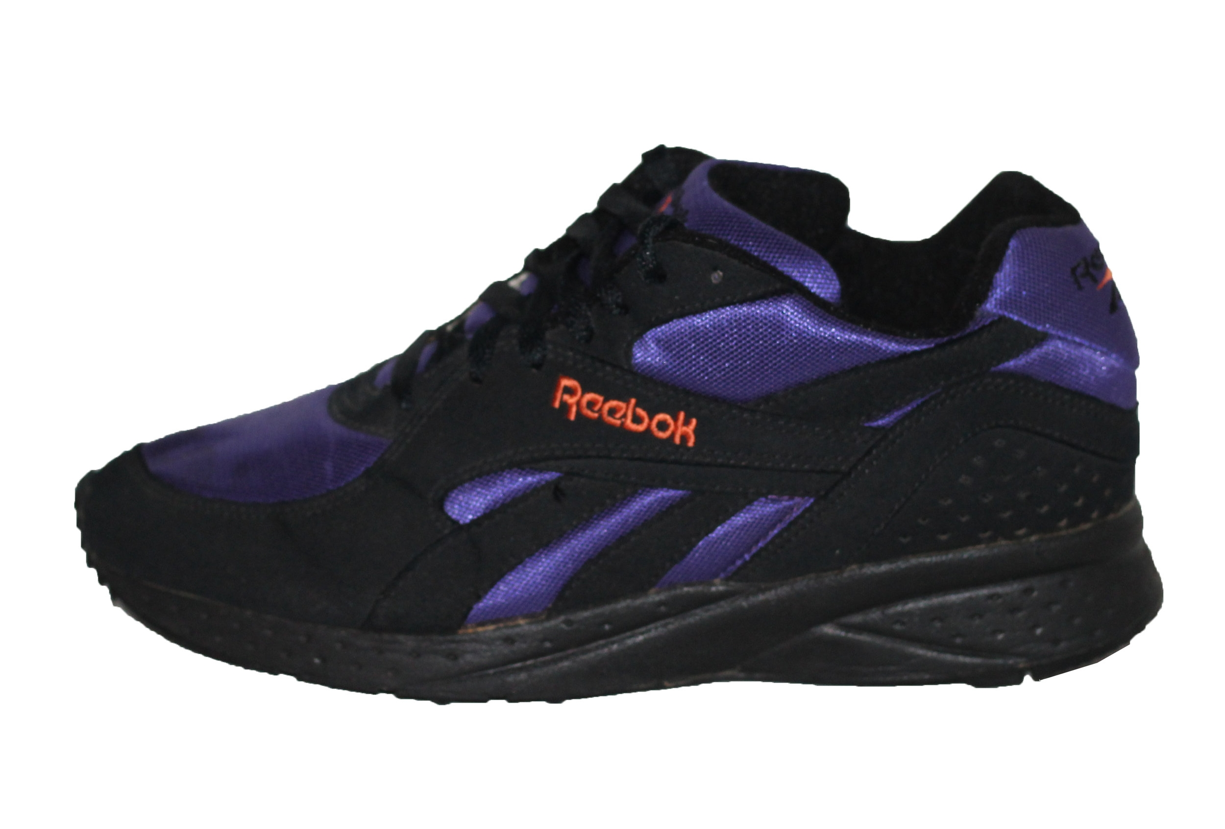 Vintage Reebok Hexalite Black / Purple