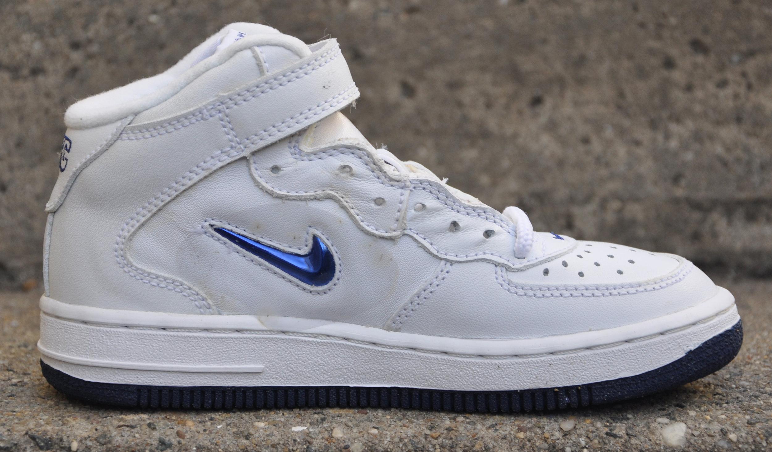 Kids Nike Air Force 1 Mid SJ SC NYC
