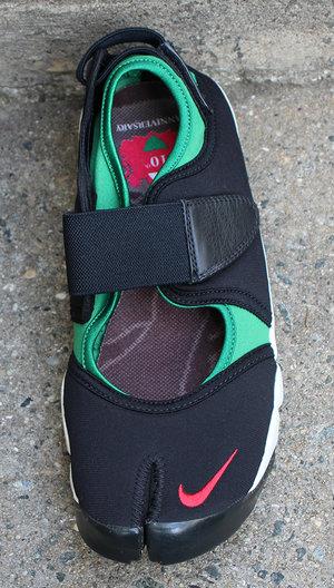 Instrumento Necesario despensa  Nike Air Rift Plus Black / Sport Red / Pine Green 10th Anniversary (Size  10) DS — Roots