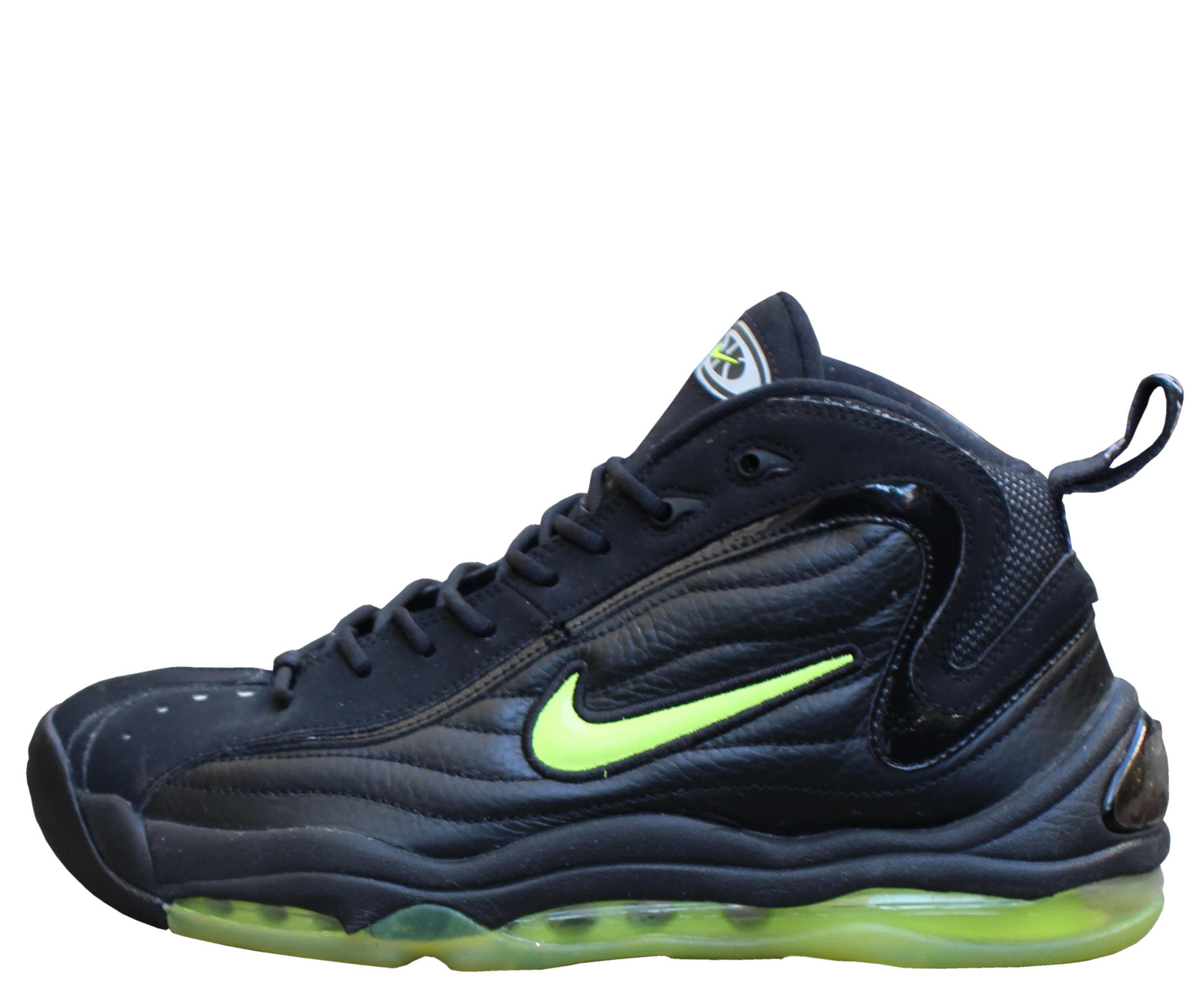Nike Air Total Uptempo LE Black / Volt