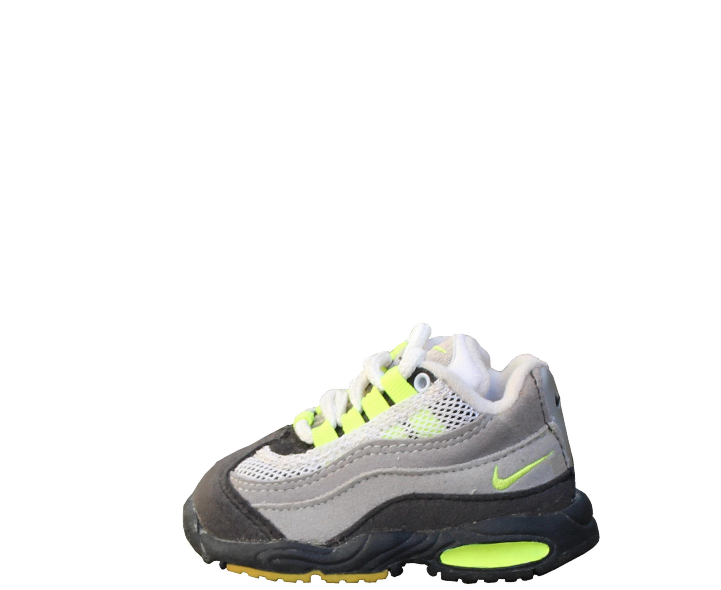 Baby Nike Air Max 95 Cool Grey / Neon