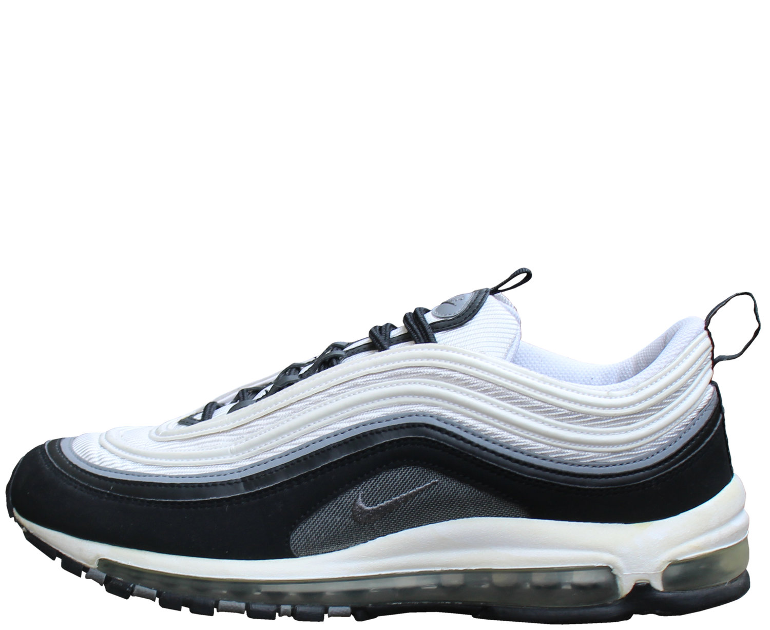 Nike Air Max 97 Black Cool Grey White Size 11 Roots