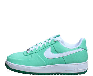 promo code 8ee68 1d6d7 Women's Nike Air Force 1 Low Canvas Tourmaline / Lucky Green (Size 9) DS —  Roots