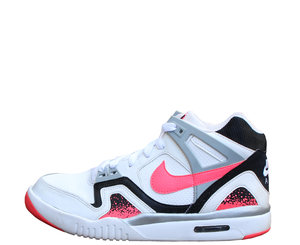 super populaire 447eb 421f9 Nike Air Tech Challenge II GS White / Black / Hot Lava (Size 5.5Y) 2014  Release — Roots