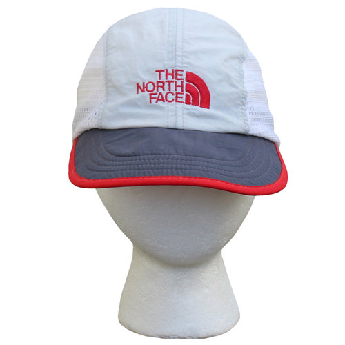 bcab085c7 Vintage The North Face Grey / Red Mesh 5 Panel Hat — Roots