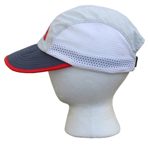 21771e46f Vintage The North Face Grey / Red Mesh 5 Panel Hat — Roots