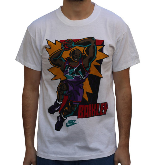 32f8cfb6168e5 Vintage Nike Charles Barkley Cartoon T Shirt NWT — Roots