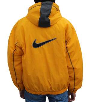 Probablemente internacional Médico  Vintage Nike Hooded Puffy Yellow Jacket (Size M) NWOT — Roots