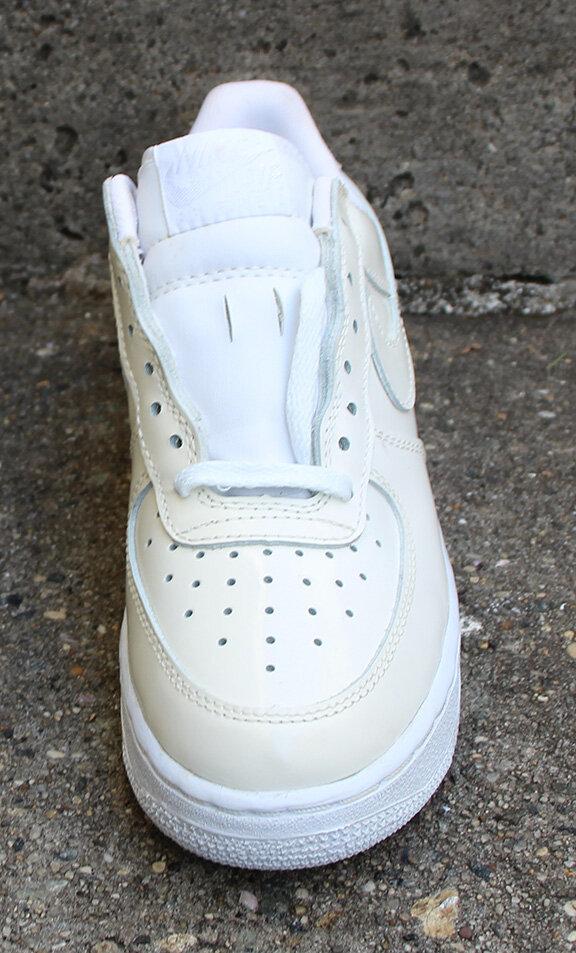 Kid's Nike Air Force 1 SC White / White