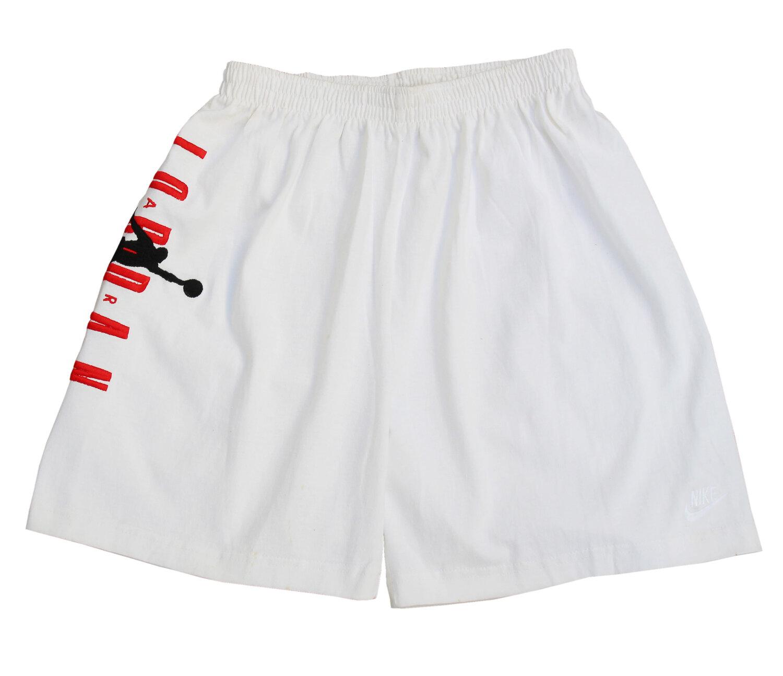 Geometría Agresivo Monografía  Vintage Nike Air Jordan VII White Sweat Shorts (Size M) NWOT — Roots