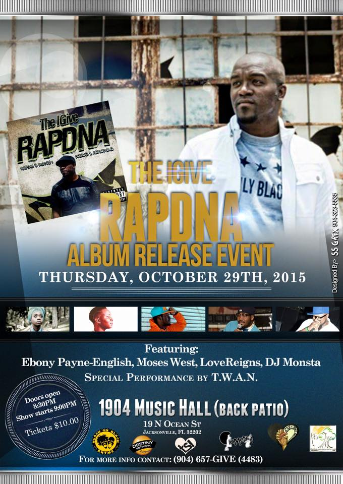 Be Sure to Catch The IGive's Album Release Party Oct 29th at 1904!