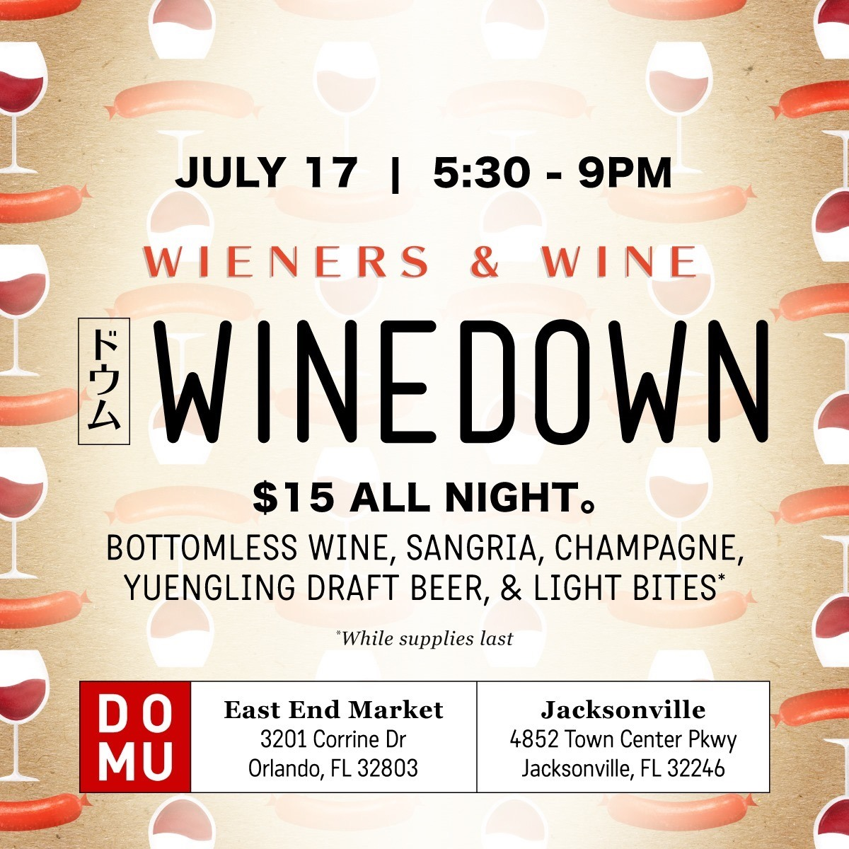 WineDown Domu