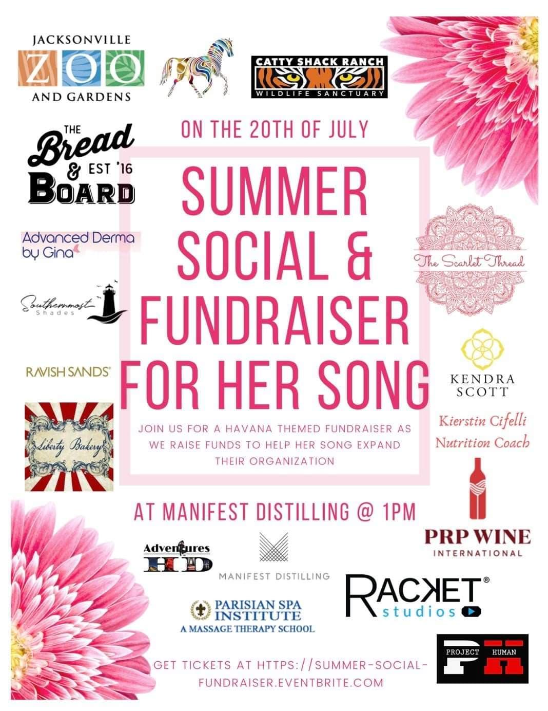 Summer Social & Fundraiser