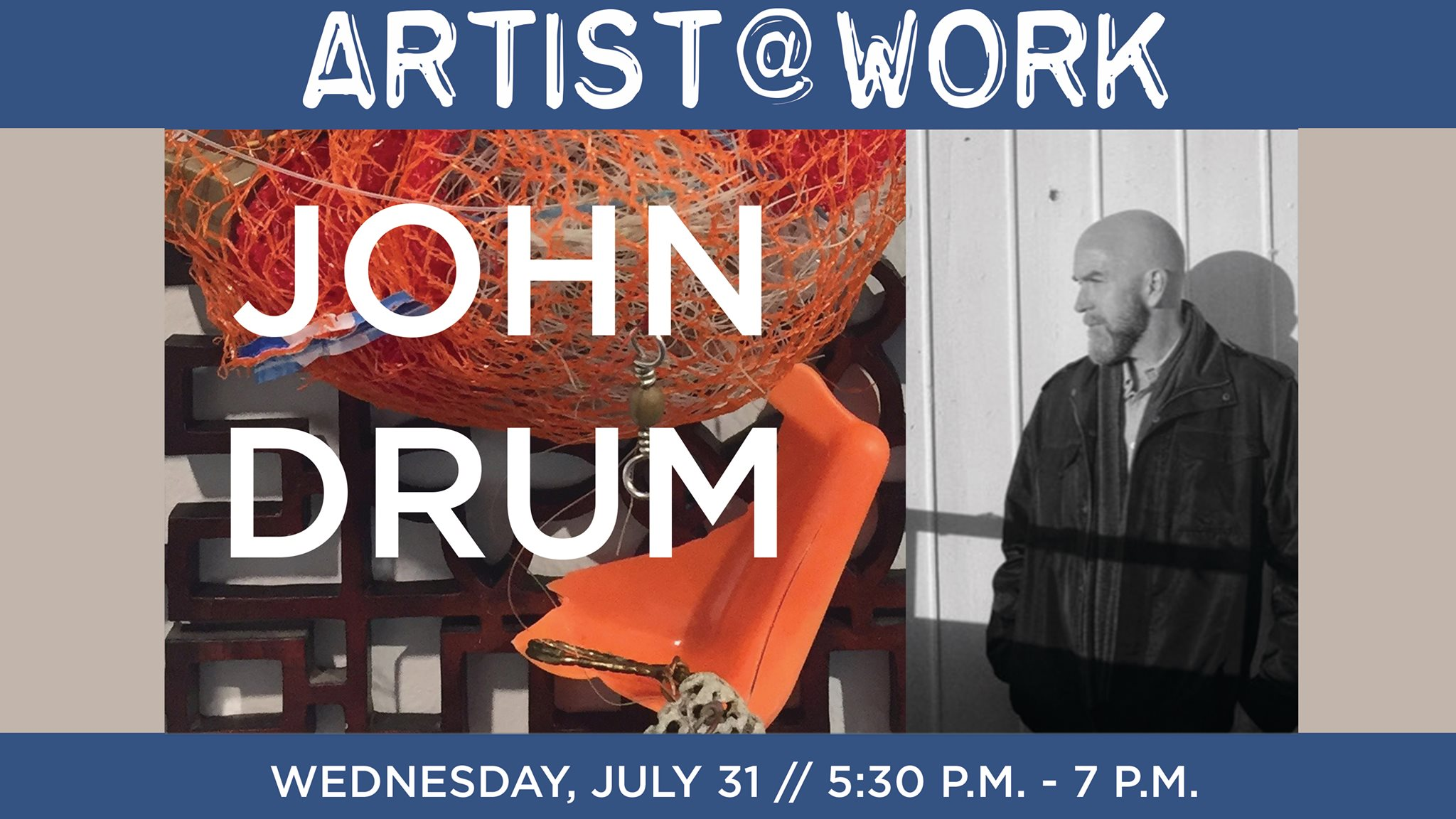 John Drum - Artist At Work