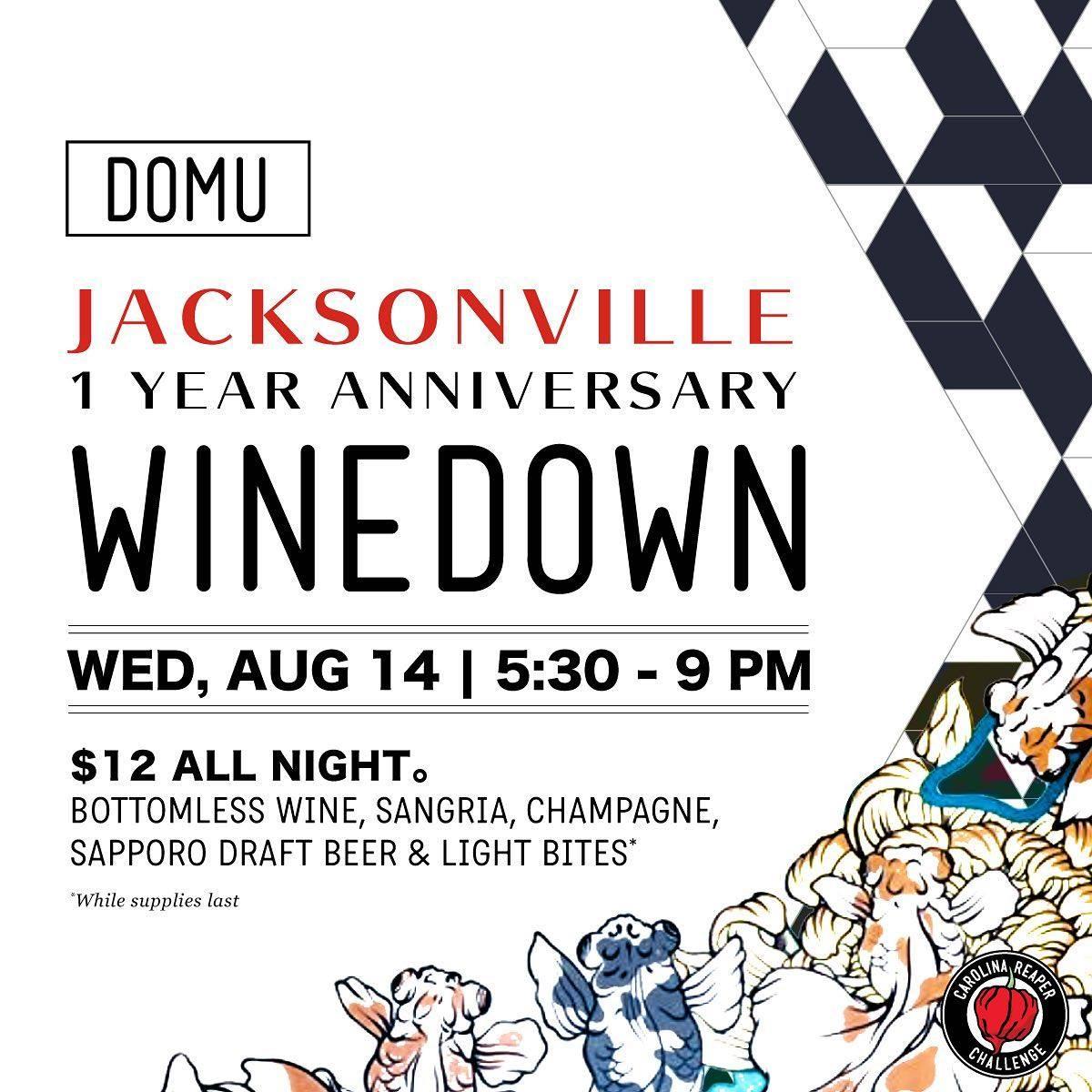 WineDown at DOMU