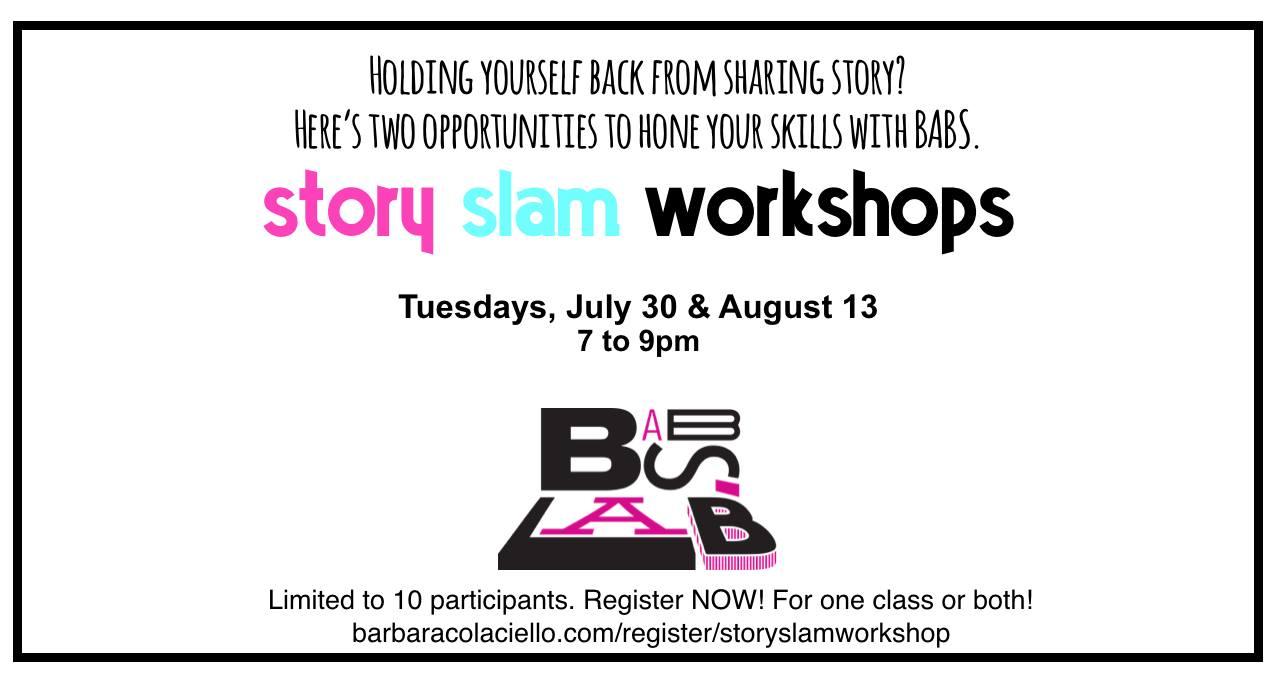 StorySlam Workshop