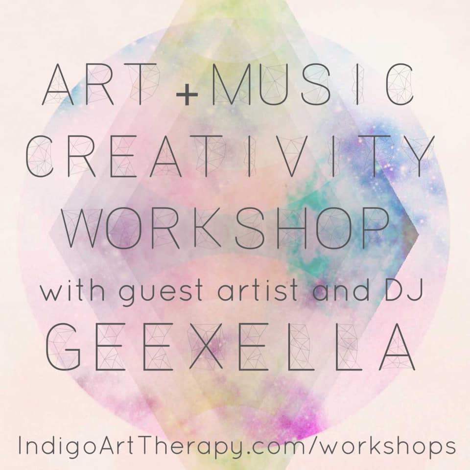 Art + Music with GeeXella