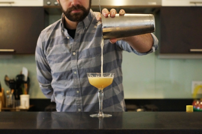Official Bar Instructor for The Drink Nation's 'Home Bar Project' series