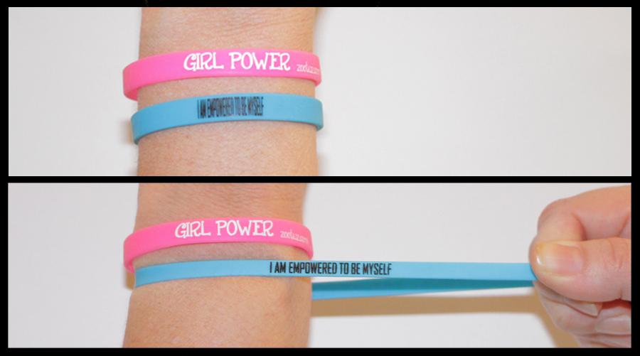 Streteched girl power bracelets.jpg