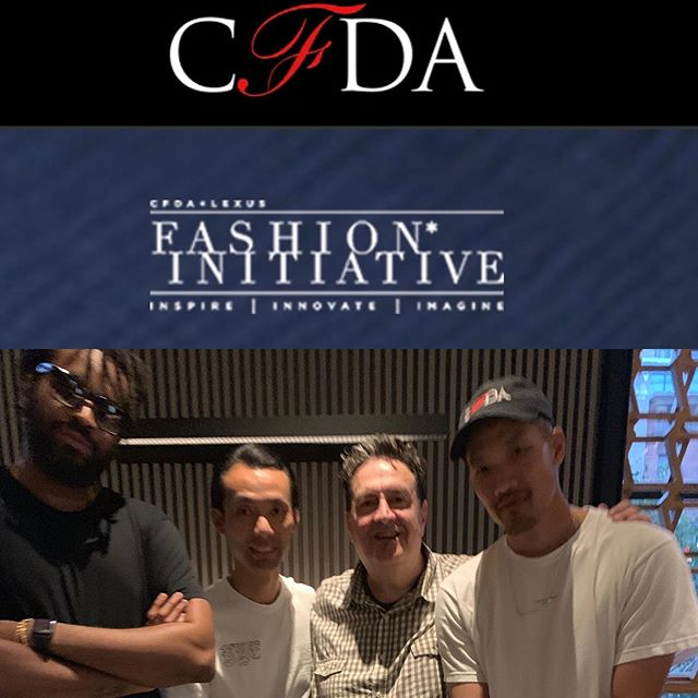 Congrats @cfda + LEXUS FASHION INITIATIVE winners @publicschoolnyc looking forward to more great things #clfi