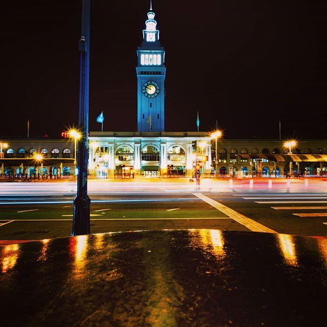 #sftrip #ferrybuilding #longexposureshots #fujixt2 #xphotographer #ScenicView #WorldExplorer #nightscape  #travelpreneur #xphotographer #roadtripusa #travel_captures #dscvr_earth #naturerad #destination_wow #thegreatoutdoors #bigworld_shotz #xf1024 #usatravel #usaroadtrip #travelusa #lostintheworld #americanwest #streetphotography_bw #fujixpassion