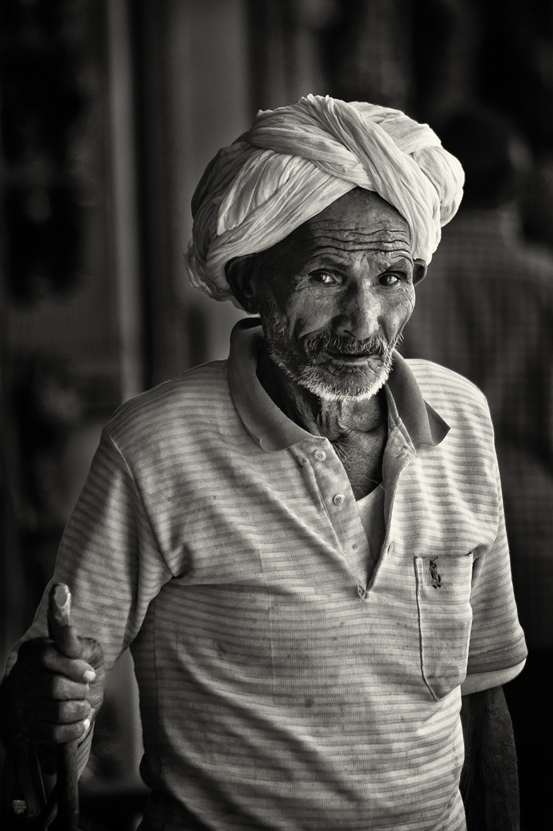 Turbaned Man, Jaipur, India