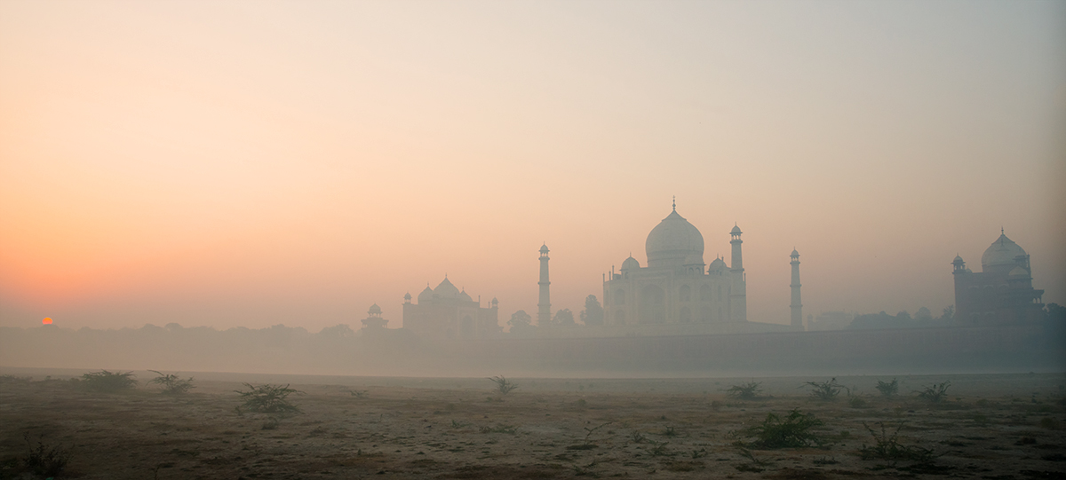 The Taj at Sunrise