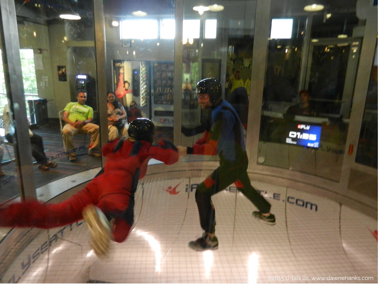 my quest for experiences often means doing things that terrify me beyond any explanation. Proof of that is this Indoor Skydiving adventure with    I  Fly Seattle.
